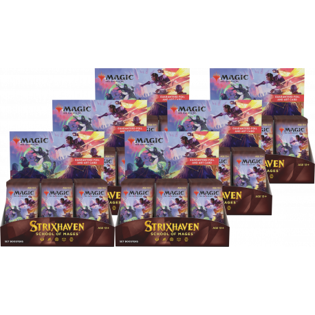 Strixhaven: School of Mages - 6x Set Booster Box (Case)