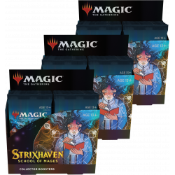 Strixhaven: School of Mages - 3x Collector Booster Box