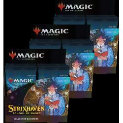 Strixhaven: Scuola dei Maghi - 3x Confezione di Collector Booster