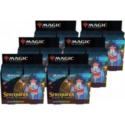 Strixhaven: School of Mages - 6x Collector Booster Box (Case)