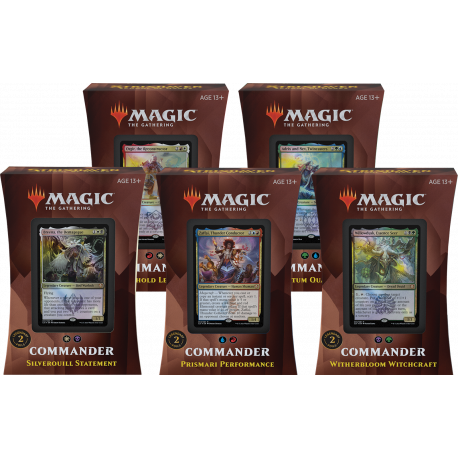 Strixhaven: School of Mages - Commander Decks Set (2 Decks)