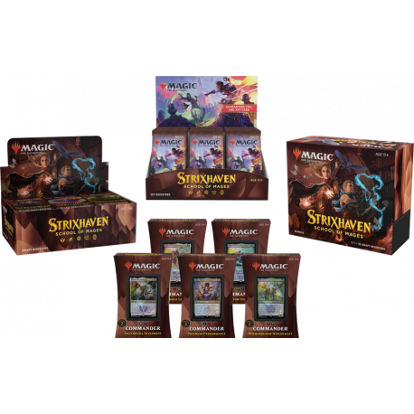 Strixhaven: School of Mages - Mega Pack XL