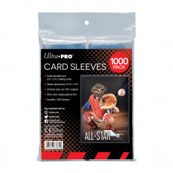 Ultra Pro - Clear Card Sleeves - 1000x Retail Pack