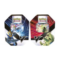 Pokemon - Scatola da collezione Colpi V - Set (Tyranitar-V & Empoleon-V)