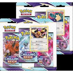 Pokemon - SWSH6 Schaurige Herrschaft - 3-Pack Blister Set
