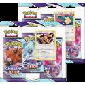 Pokemon - SWSH6 Chilling Reign - 3-Pack Blister Set
