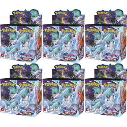 Pokemon - SWSH6 Chilling Reign - Booster Case (6 Displays)