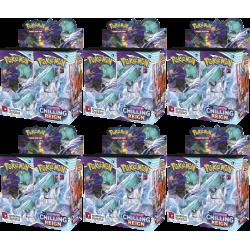 Pokemon - SWSH6 Schaurige Herrschaft - Booster Case (6 Displays)