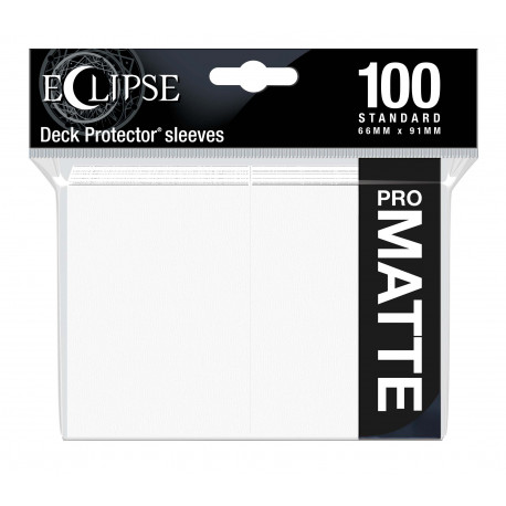 Ultra Pro - Eclipse Matte 100 Sleeves - Arctic White