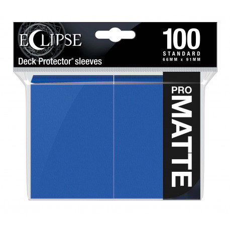 Ultra Pro - Eclipse Matte 100 Sleeves - Pacific Blue