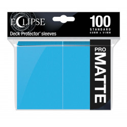 Ultra Pro - Eclipse Matte 100 Sleeves - Sky Blue