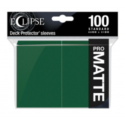 Ultra Pro - Eclipse Matte 100 Sleeves - Forest Green