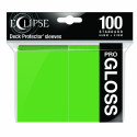 Ultra Pro - Eclipse Gloss 100 Sleeves - Lime Green