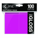 Ultra Pro - Eclipse Gloss 100 Sleeves - Hot Pink