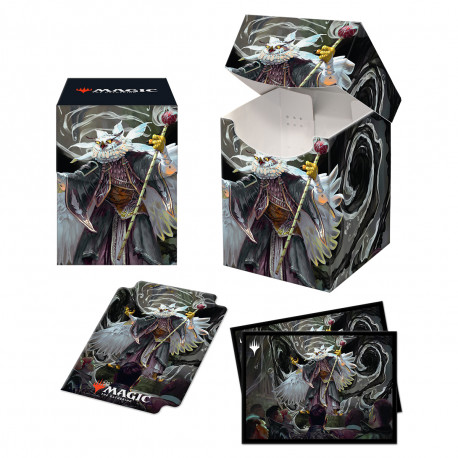 Ultra Pro - Strixhaven Combo Deck Box & 100 Sleeves - Breena the Demagogue