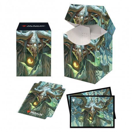 Ultra Pro - Strixhaven Combo Deck Box & 100 Sleeves - Willowdusk, Essence Seer