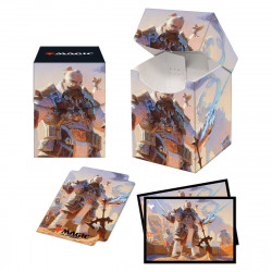 Ultra Pro - Strixhaven Combo Deck Box & 100 Sleeves - Osgir, The Recostructor