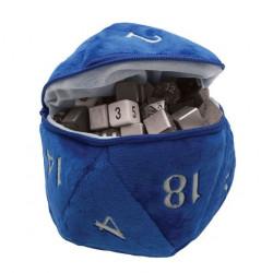 Ultra Pro - D20 Plush Dice Bag - Blue