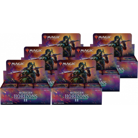 Modern Horizons 2 - 6x Draft Booster Box (Case)