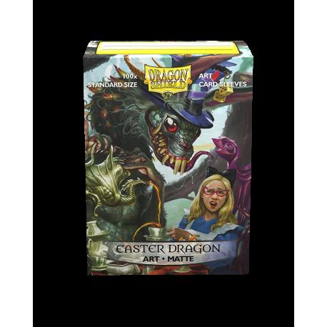 Dragon Shield - Art 100 Sleeves - Easter Dragon 2021