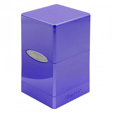 Ultra Pro - Hi-Gloss Satin Tower - Amethyst