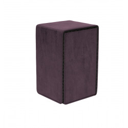 Ultra Pro - Suede Alcove Tower Deck Box - Amethyst