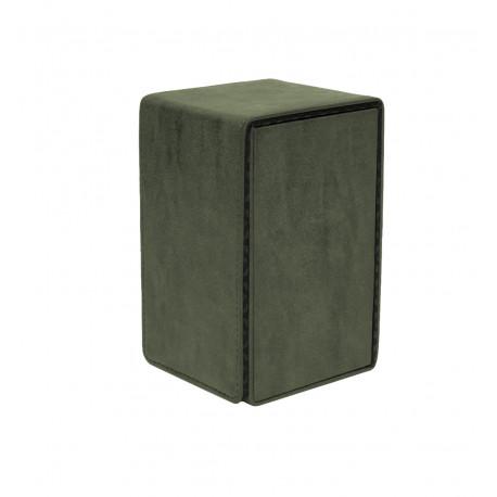 Ultra Pro - Suede Alcove Tower Deck Box - Emerald