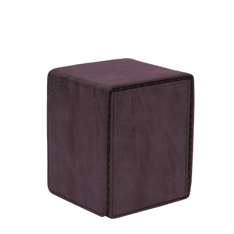 Ultra Pro - Suede Alcove Flip Deck Box - Amethyst
