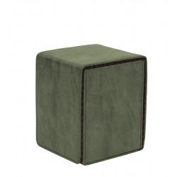 Ultra Pro - Suede Alcove Flip Deck Box - Emerald