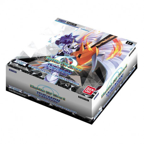 Digimon Card Game - Battle Of Omni Booster Display BT05 (24 Packs)
