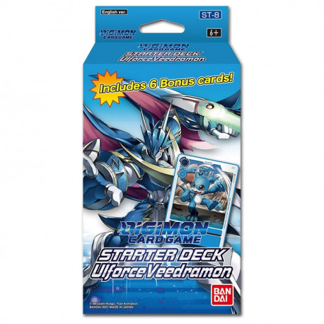 Digimon Card Game - Starter Deck - UlforceVeedramon ST-8