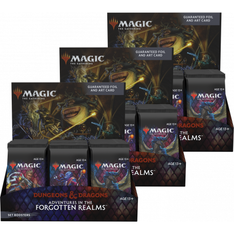 Adventures in the Forgotten Realms - 3x Set Booster Box