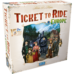 Ticket to Ride - Europe 15th Anniversary - FR/DE/IT