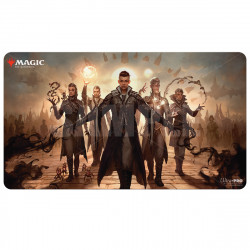 Ultra Pro - Strixhaven Playmat - Silverquill Command