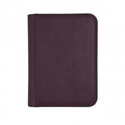 Ultra Pro - Suede Zippered Premium 4-Pocket PRO-Binder - Amethyst