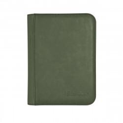 Ultra Pro - Suede Zippered Premium 4-Pocket PRO-Binder - Emerald