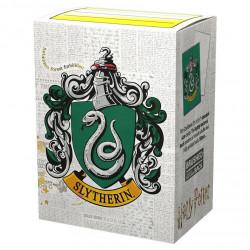 Dragon Shield - WizardingWorld Art 100 Sleeves - Slytherin