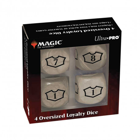 Ultra Pro - Deluxe Loyalty Dice Set with 7-12 - Plains