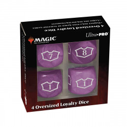 Ultra Pro - Deluxe Loyalty Dice Set with 7-12 - Swamp