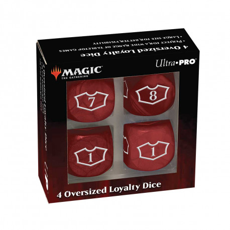 Ultra Pro - Deluxe Loyalty Dice Set with 7-12 - Mountain