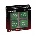 Ultra Pro - Deluxe Loyalty Dice Set with 7-12 - Forest