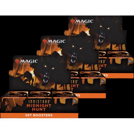 Innistrad: Midnight Hunt - 3x Set Booster Box