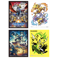 Digimon Card Game - Official Sleeves 2021 (4x60)