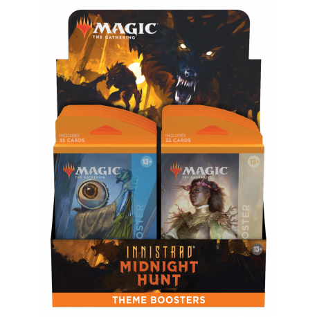 Innistrad: Midnight Hunt - Theme Booster Display