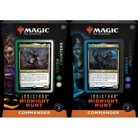 Innistrad: Midnight Hunt - Commander Decks Set (2 Decks)