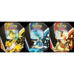 Pokemon - Tin-Box Evoli-Entwicklungen - Set (3 Tins)