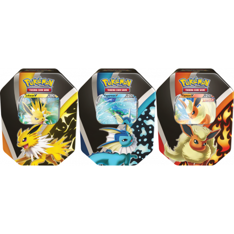Pokemon - Eevee Evolutions Tin - Set (3 Tins)