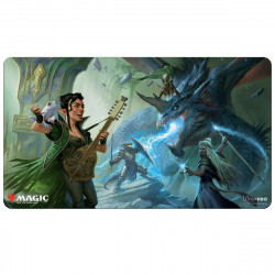 Ultra Pro - Adventures in the Forgotten Realms Playmat - The Party Fighting Blue Dragon