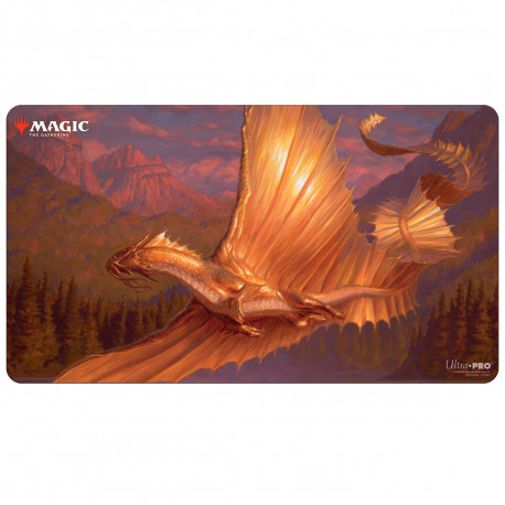 Ultra Pro - Adventures in the Forgotten Realms Playmat - Adult Gold Dragon