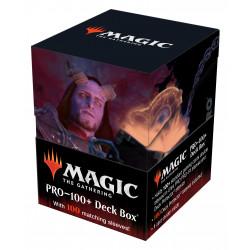Ultra Pro - Commander Adventures in the Forgotten Realms Combo Deck Box & 100 Sleeves - Prosper, Tome-Bound